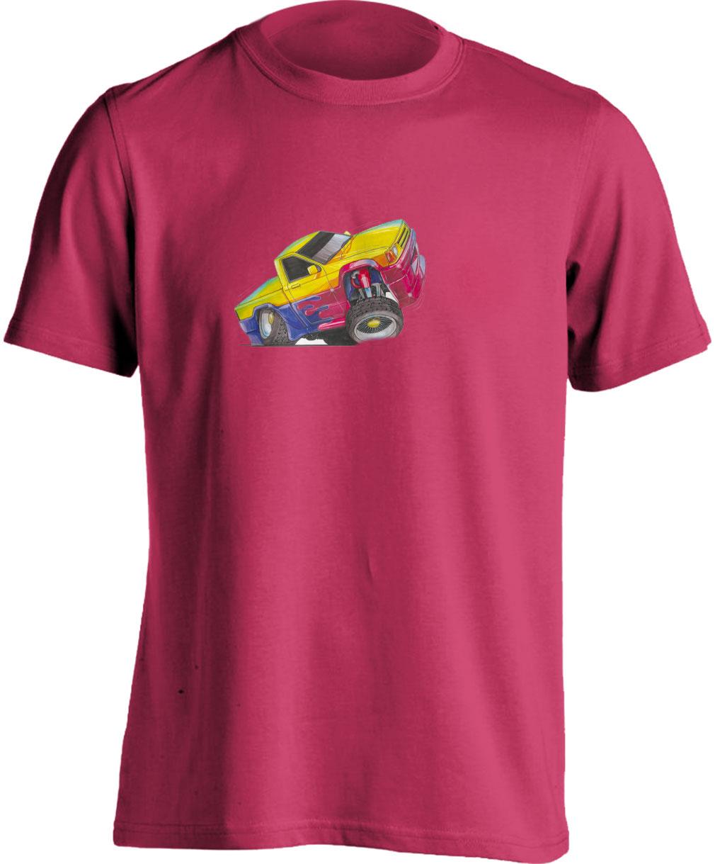 Koolart Pick Up Yellow/Blue/Red – 1053 Child's T Shirt