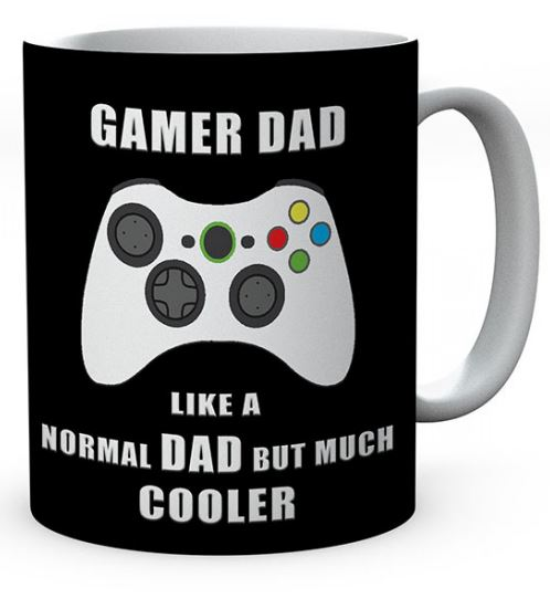 Gamer Dad Like A Normal Dad But Much Cooler Ceramic Mug