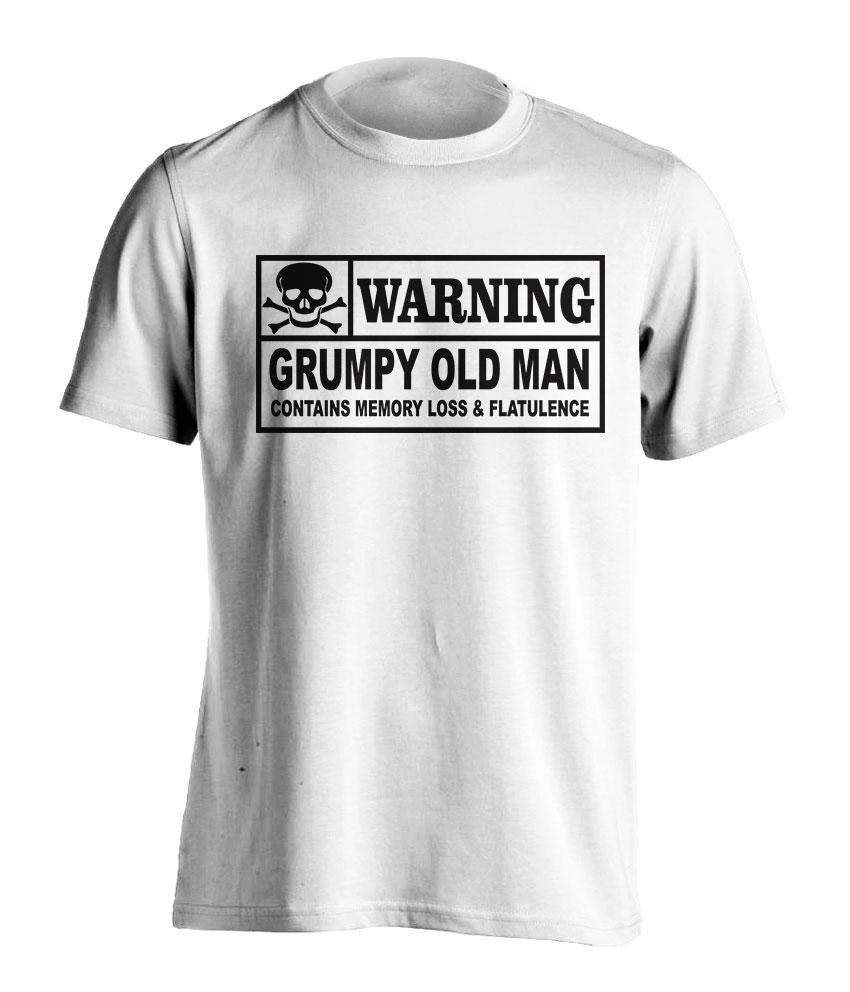 Grumpy Old Man T Shirt.