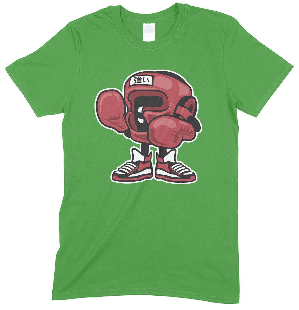 Boxing Champion Cartoon Funny Children's T Shirts