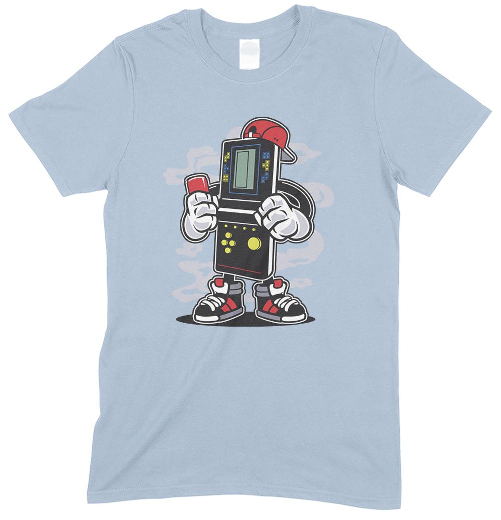 Brick Gamer Cartoon Funny Children's T Shirt Boy-Girl