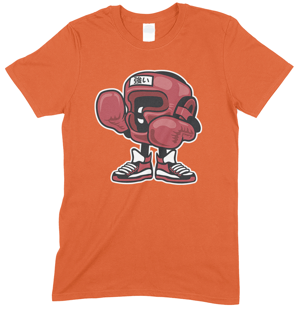 Boxing Champion Cartoon Funny Men'sT Shirt