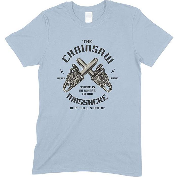 The Chainsaw Massacre There is No Where to Run-Men's Unisex T Shirt