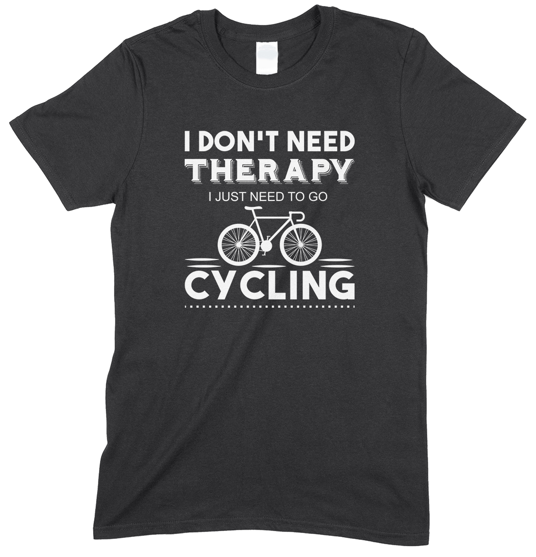 I Don't Need Therapy I Just Need to Go Cycling - Child's T Shirt Boy/Girl