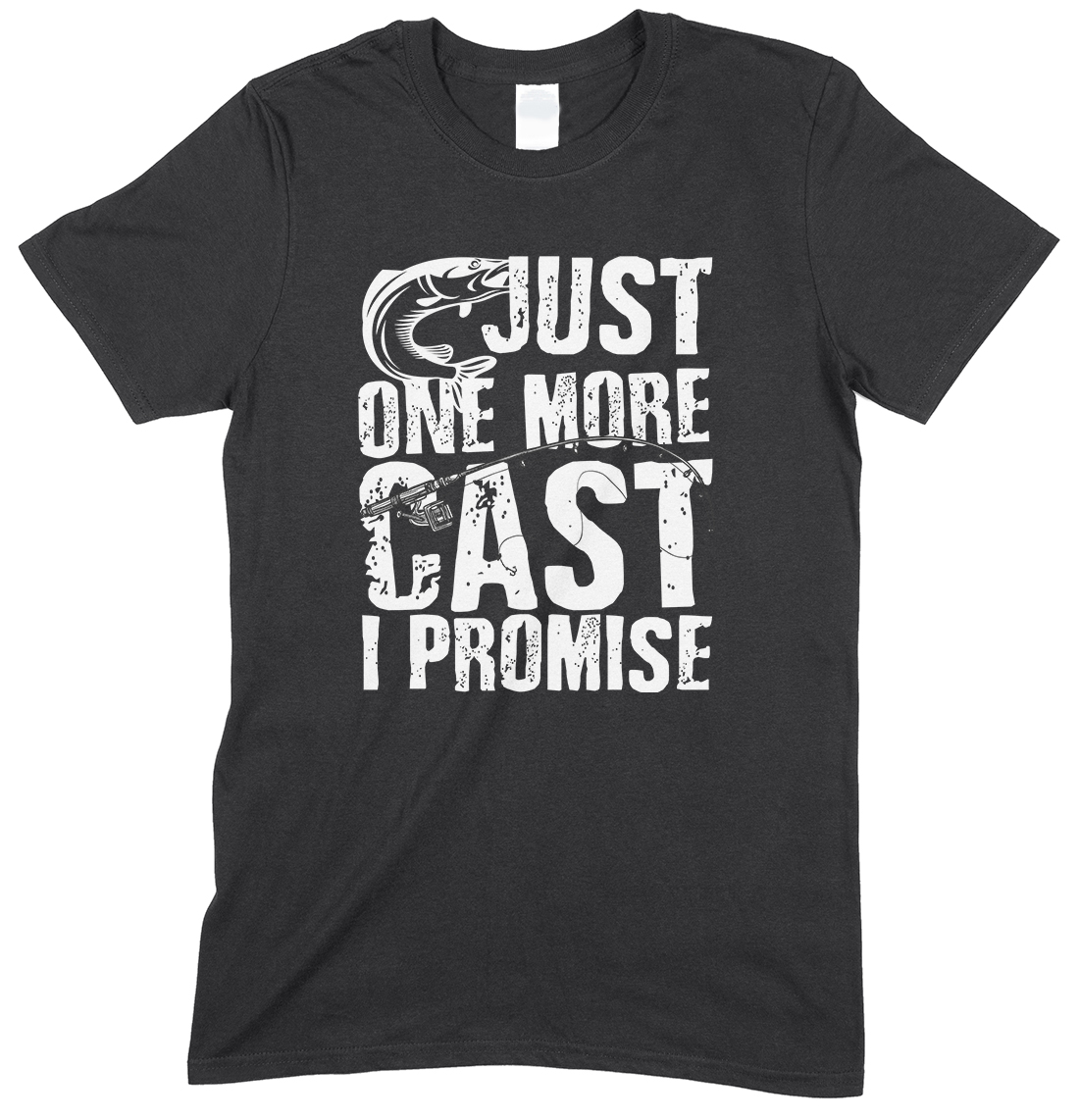 Just One More Cast I Promise -Kids T Shirt Boy/Girl