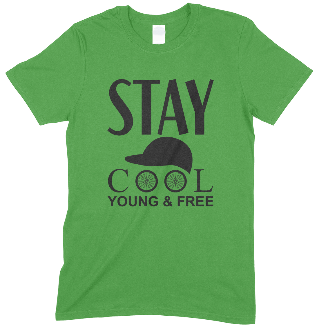 Stay Cool Young & Free -Children's Unisex T Shirt