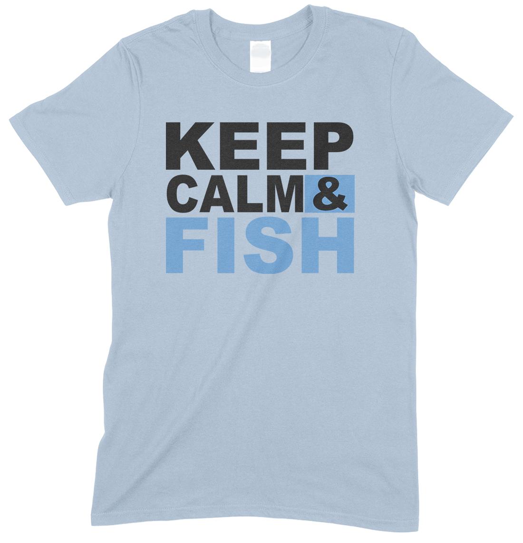 Keep calm & Fish - Child's Unisex Boy- Girl T Shirt