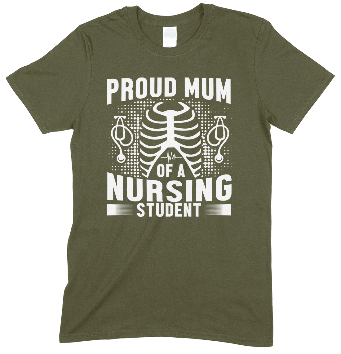Proud Mum of A Nursing Student-Unisex T Shirt