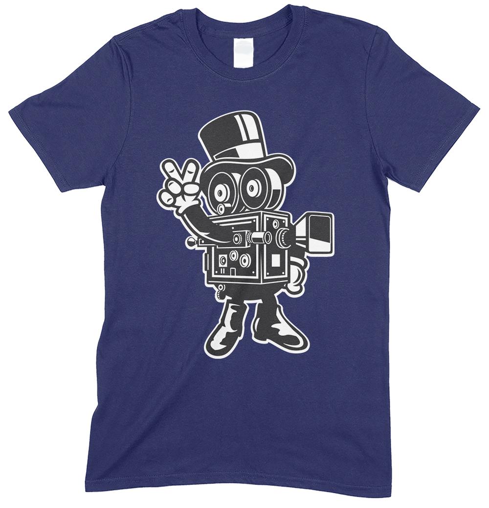 Classic Cameraman CartoonChildren's Funny T Shirt Boy-Girl