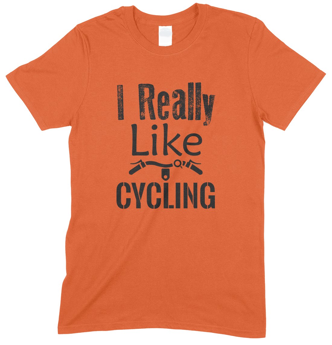 I Really Like Cycling-Unisex Adults T Shirt
