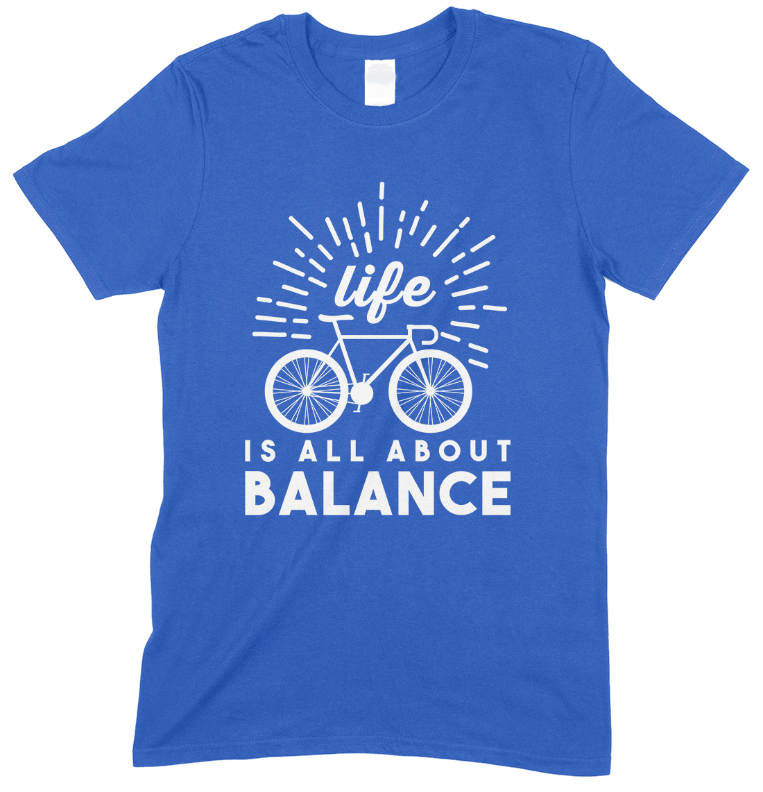 Life is All About Balance-Cycling -T Shirt Boy-Girl