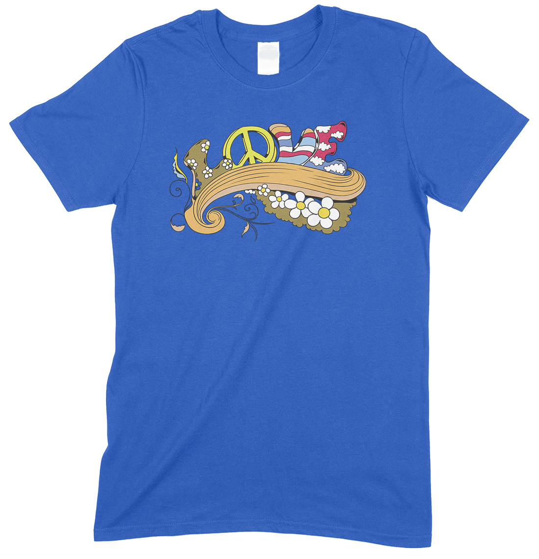 Peace Love- Children's T Shirt Boy-Girl
