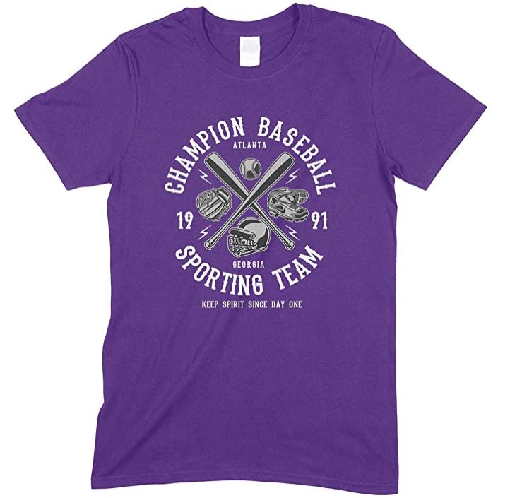 Champion Baseball Sporting Team Keep Spirit Since Day One - Child's T Shirt Boy-Girl