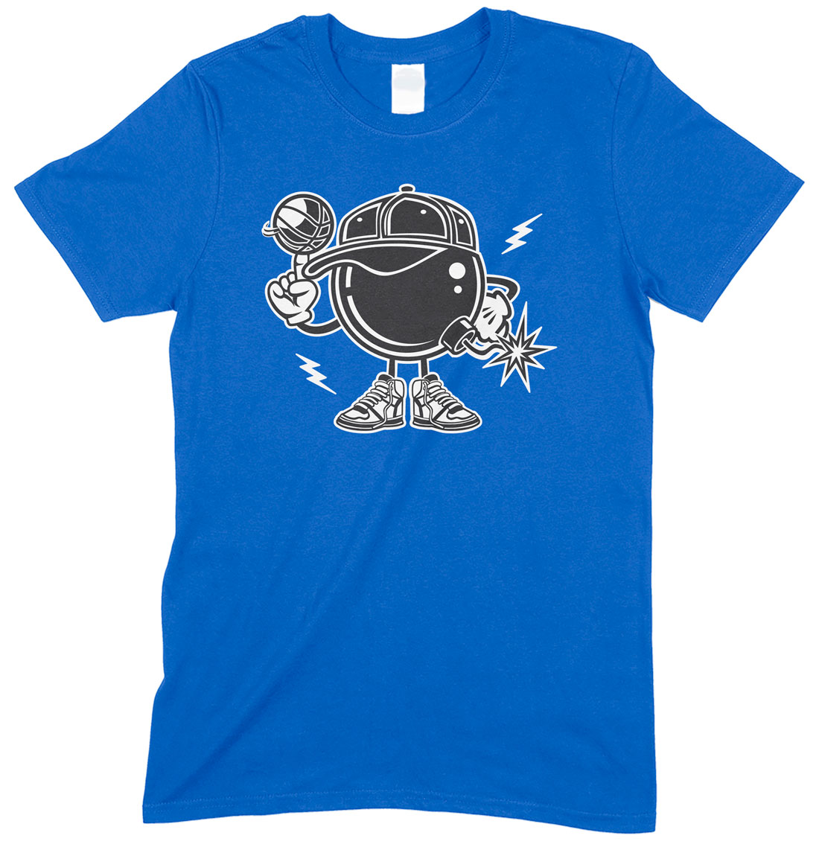 Basketball Bomber Unisex Adults Funny T Shirt