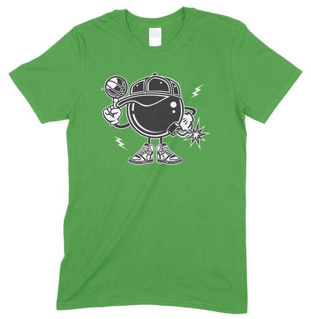 Basketball Bomber Children's Funny T Shirt