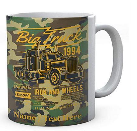 Big Truck 1994 Iron and Wheels Ceramic Mug