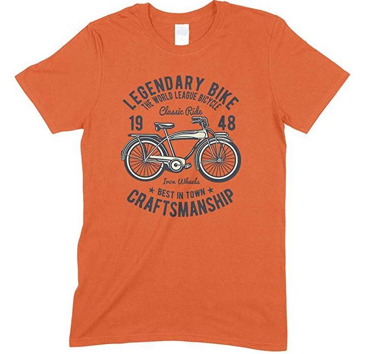 Legendary Bike The World League Bicycle Classic Ride - Men's Unisex Fun T Shirt