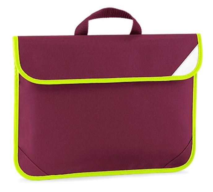 Personalised Embroidered Enhanced-Viz Book Bag