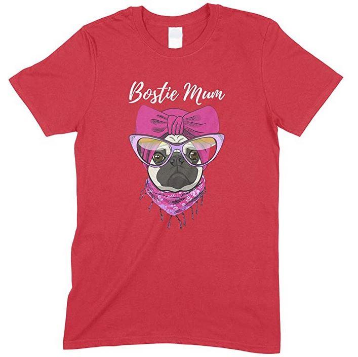 Funny Bostie Dog Mum -Children's T- ShirtBoy-Girl