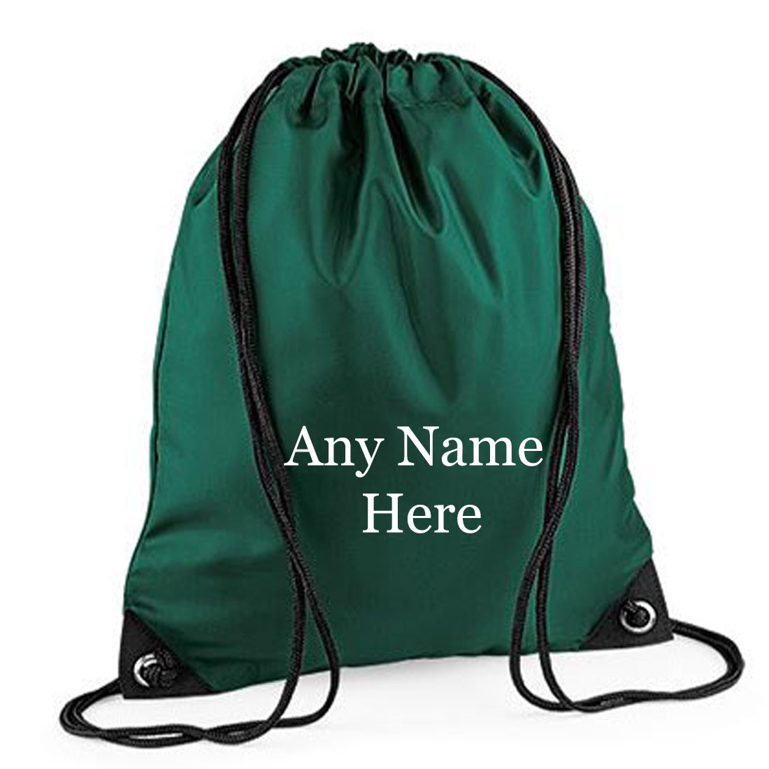 Printed  Any Name  Drawstring Gym Bag