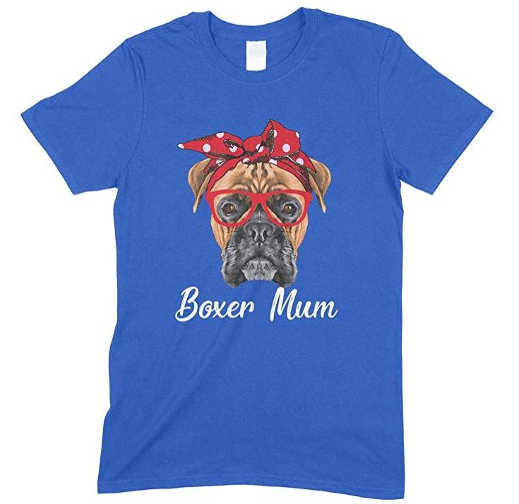 Funny BoxerDog Mum -Children's T- ShirtBoy-Girl