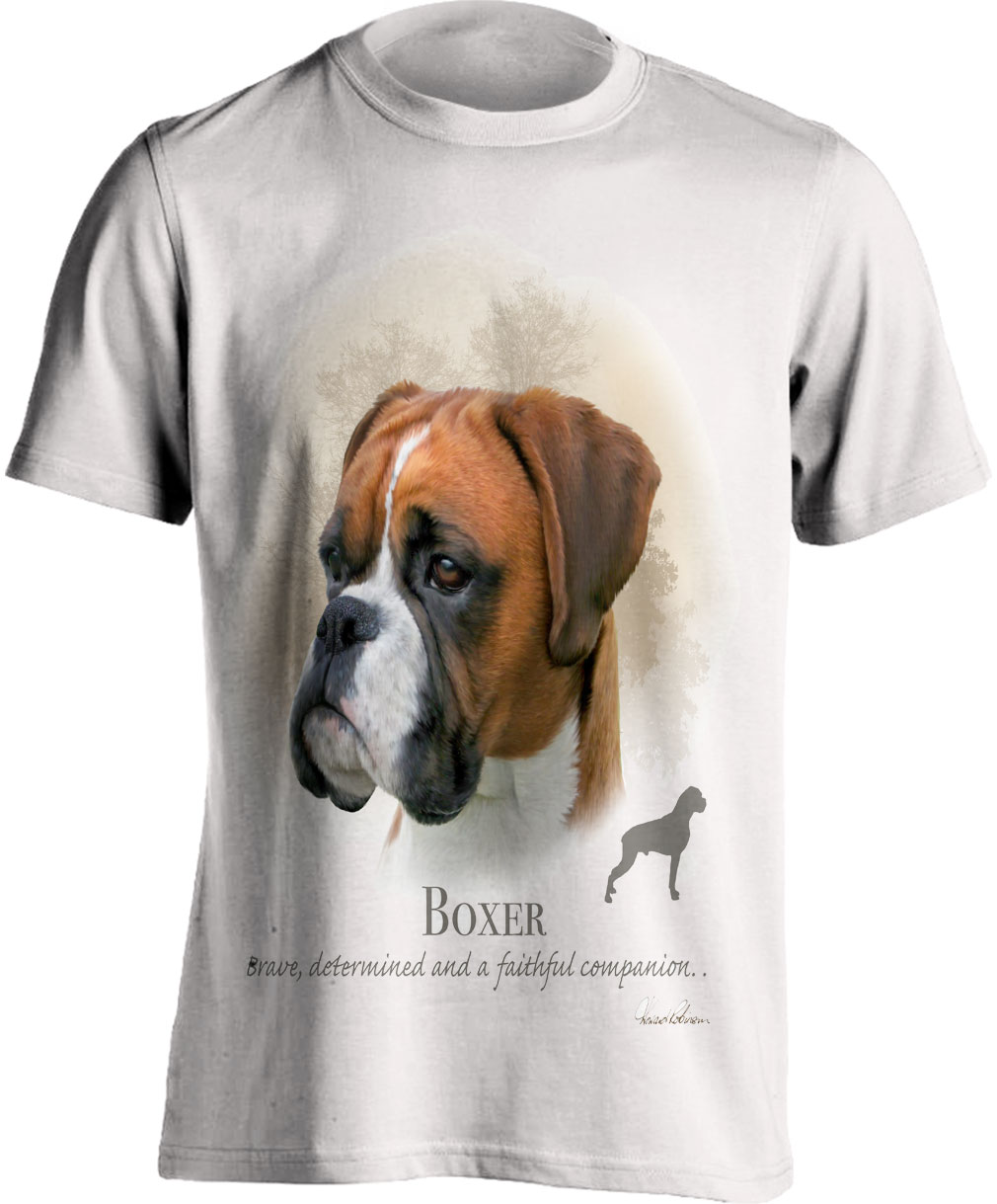 Boxer Dog T Shirt
