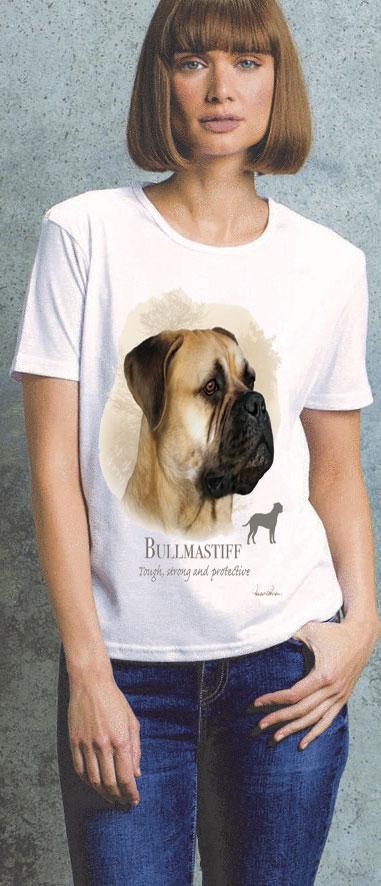 Bullmastiff Ladies T Shirt