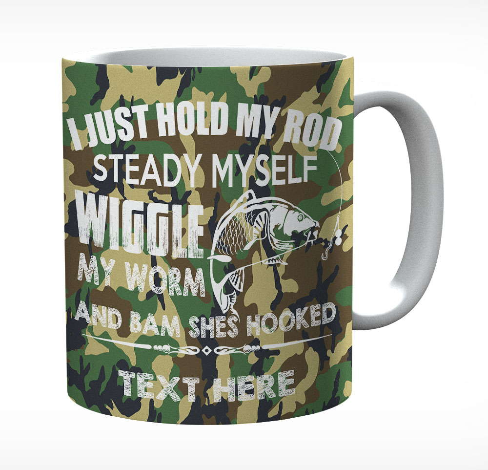 Wife Funny Fishing Mug