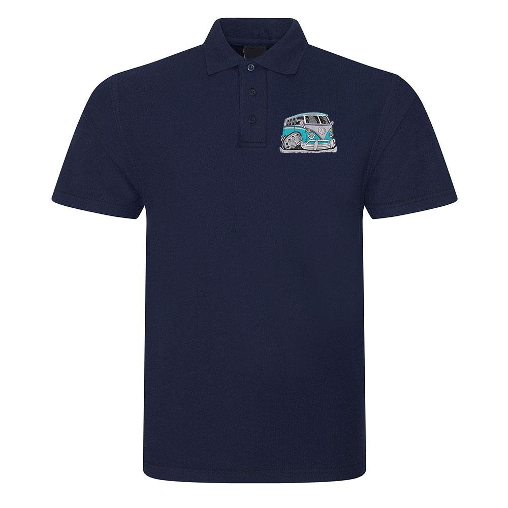 Koolart Camper Van  Polo Shirt