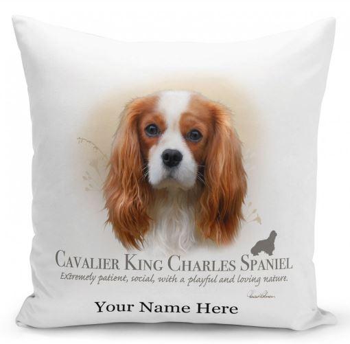 Cavalier King Charles Spaniel Dog Cushion