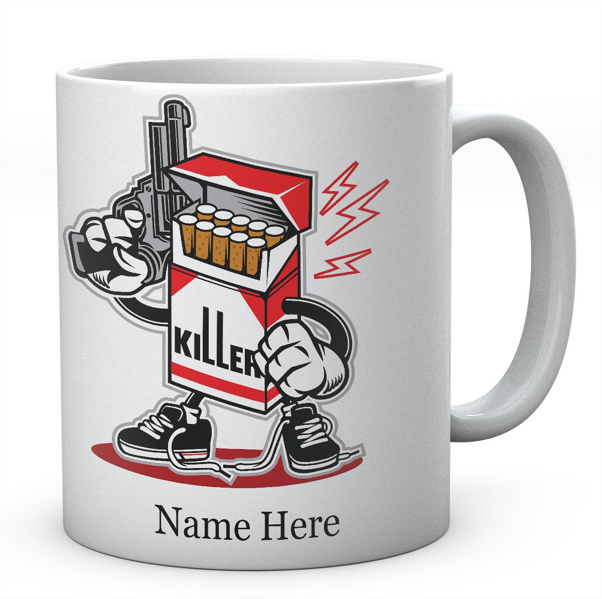 Cigarette Killer Funny Mug