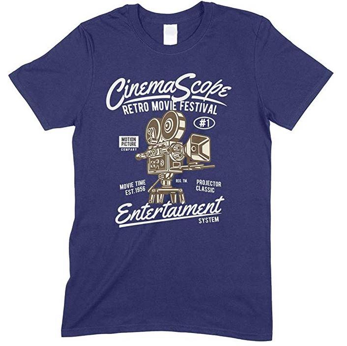 Cinema Scope Retro Movie Festival Entertainment System- Child's T Shirt Boy-Girl