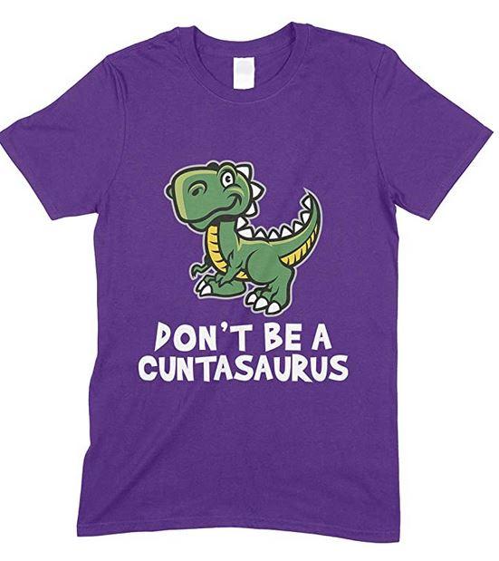 Cuntasaurus Mens Novelty Funny T Shirt