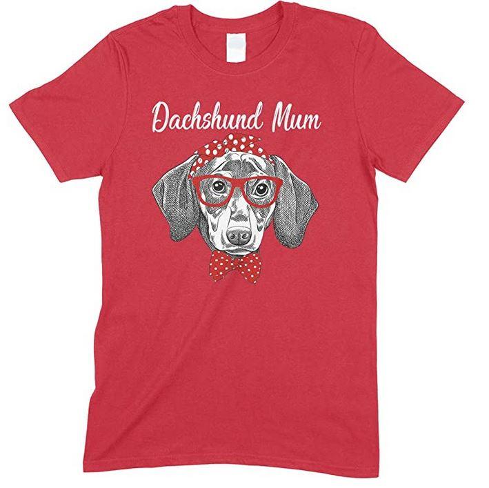 Funny Dachshund Dog Mum -Children's T- ShirtBoy-Girl