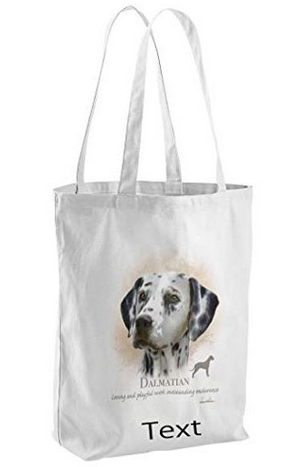 Dalmatian Dog Tote Shopping Bag