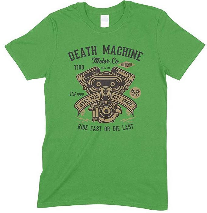 Death Machine Ride Fast Or Die Last Unisex T Shirt Boy-Girl