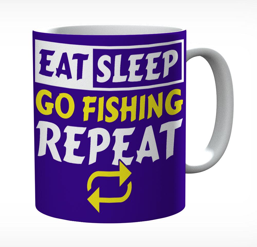 Eat Sleep Go Fish Repeat
