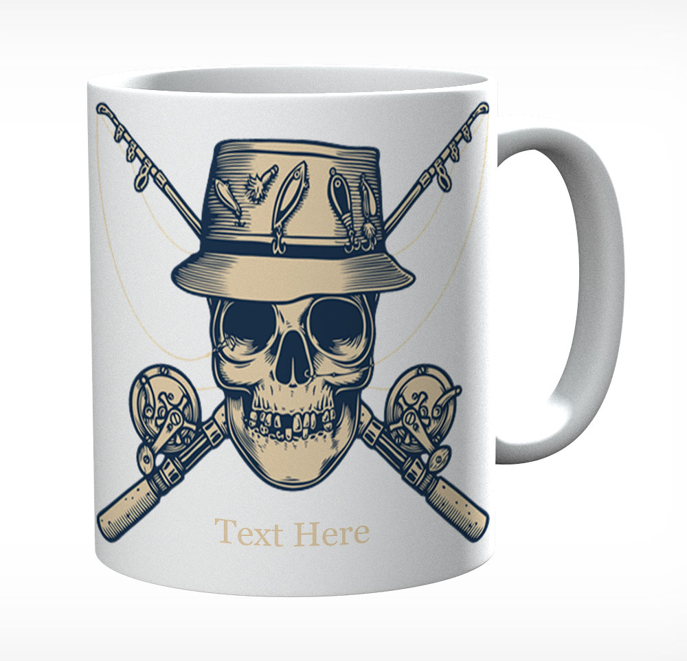 Fisherman's Skull Personalised With Name