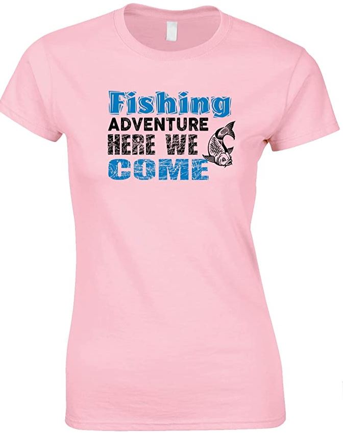 Fishing Adventure Here We Come - Ladies Style T Shirt
