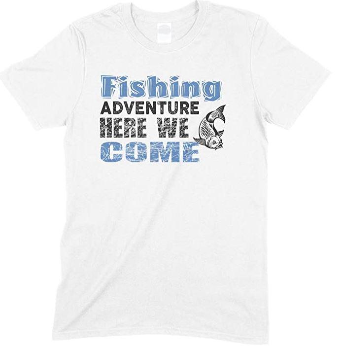 Fishing Adventure Here We Come - Unisex T Shirt