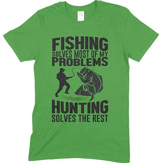 Fishing Solves Most Of My Problems-Child's Unisex T Shirt