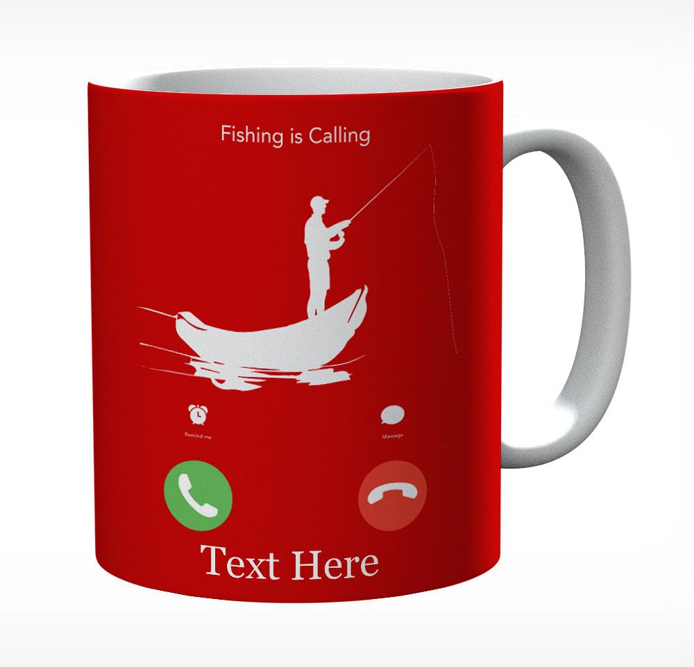 Fish Is Calling Personalised Mug