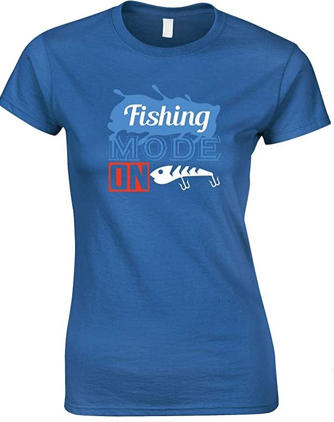 Fishing Mode On-Ladies Style T Shirt
