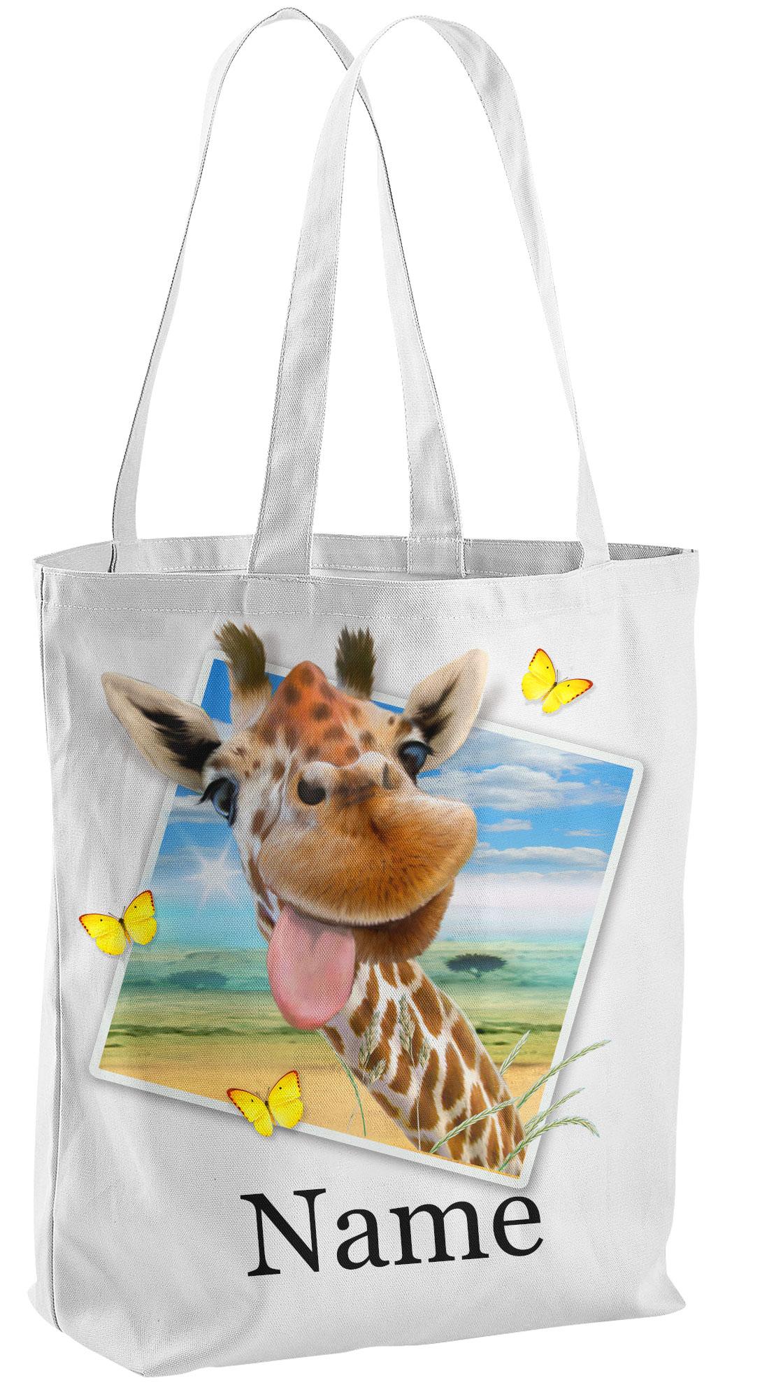 Giraffe Tote Shopper Bag