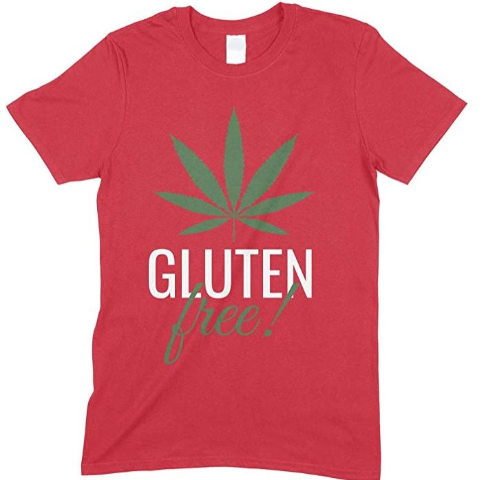 Gluten Free Weed  - Men's Funny T Shirt