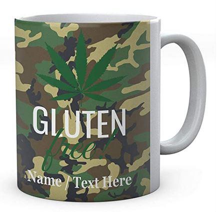Gluten Free Weed-Personalised Name Mug