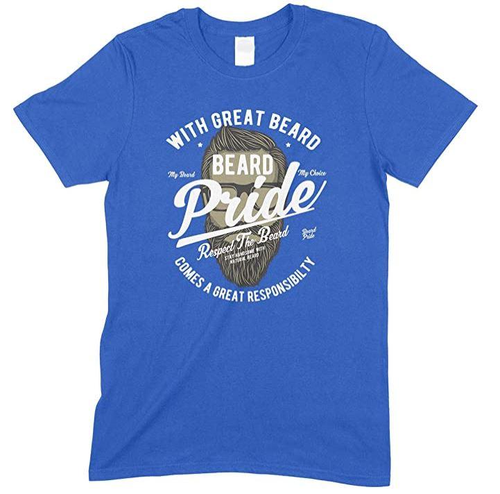Great Beard Comes A Great Responsibilty - Men's Unisex T Shirt- Beard Pride