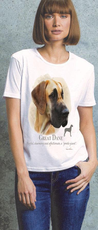 Great Dane Ladies T Shirt