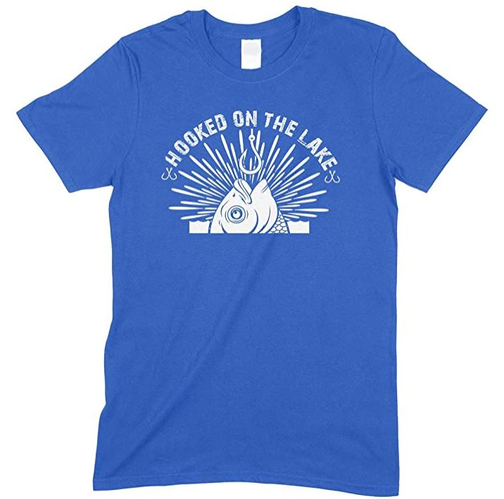 Hooked On The Lakes -Kids T Shirt Boy-Girl