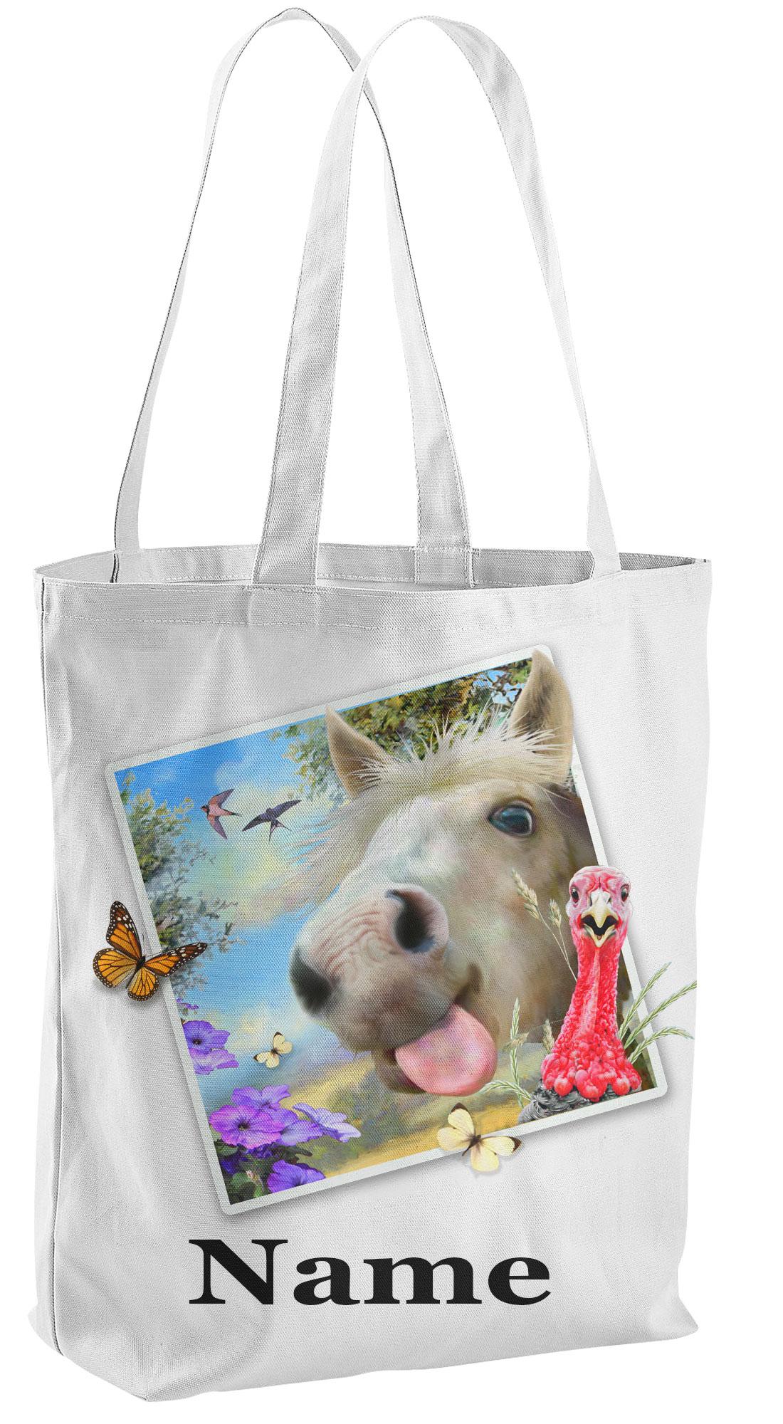 Horse Tote Shopping Bag
